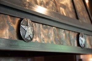 Copper Vent Hood Texas Lone Star